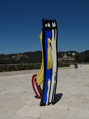 Three Brushstrokes sculpture by Roy Lichtenstein