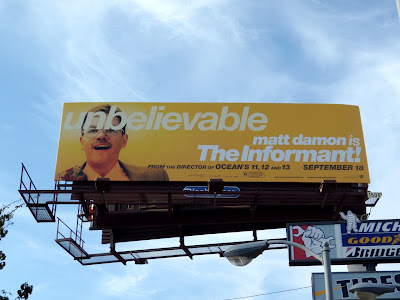The Informant movie billboard