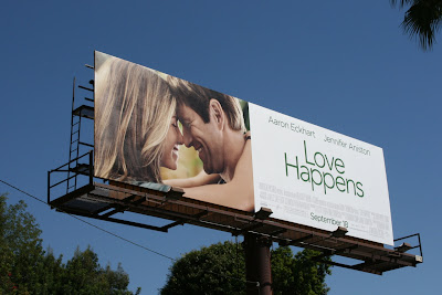 Love Happens movie billboard