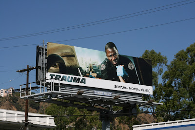 Trauma TV show billboard