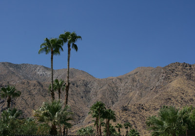 Palm Springs mountain view