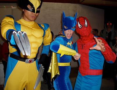 WEHO Halloween superhero costumes 2008