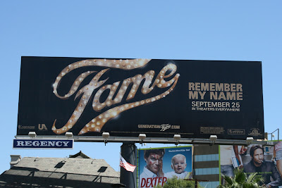 Fame 2009 movie billboard