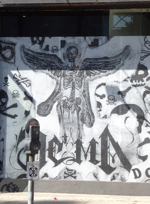 Death skeleton angel