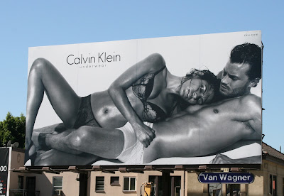 Hot male Calvin Klein underwear billboard
