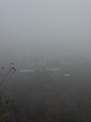 Misty LA after rain Oct 09