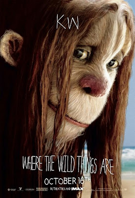 KW Where The Wild Things Are poster