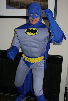 Halloween Brave and the Bold Batman costume