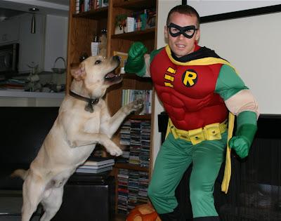 Robin vs Halloween Cooper