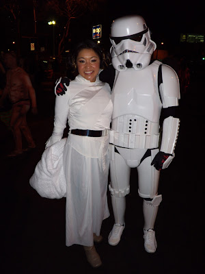 Star Wars costumes at West Hollywood Halloween Carnaval 2009
