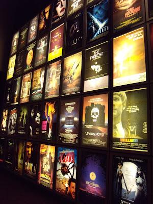 ArcLight Sherman Oaks cinema horror wall
