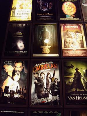 ArcLight Sherman Oaks cinema horror movie posters