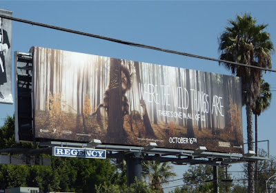 Where The Wild Things Are film billboard
