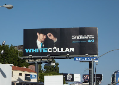 White Collar TV show billboard
