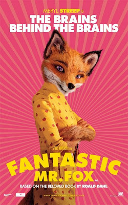 Fantastic Mrs Fox poster