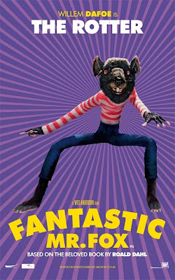 The Rotter Fantastic Mr Fox poster