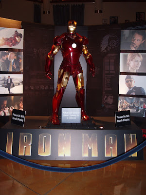 Iron Man suit worn by Robert Downey Jr