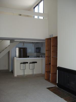 Condo living space