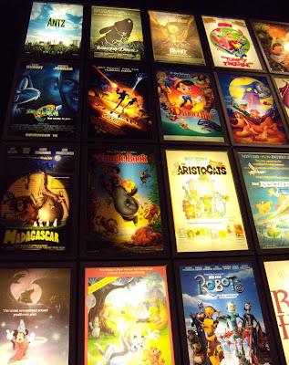 Animation posters ArcLight Sherman Oaks cinema