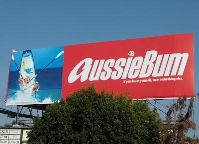 Aussiebum rowers billboard