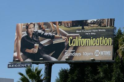David Duchovny Californication TV billboard