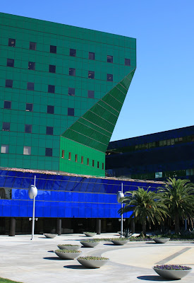 Colourful Pacific Design Center West Hollywood