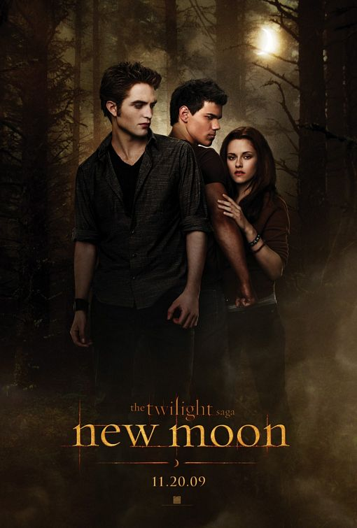 Twilight Saga New Moon film poster