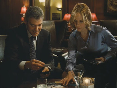 George Clooney and Vera Farmiga Up in the Air