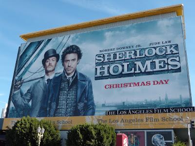 Sherlock Holmes USA film billboard