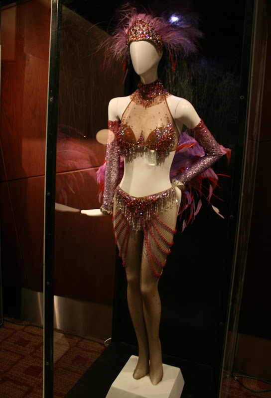 Nine Folies Bergere dancer movie outfit