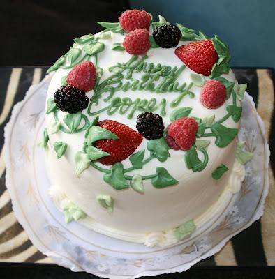 Cooper's 1st Birthday cake