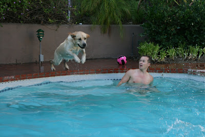 Pool Cooper in action