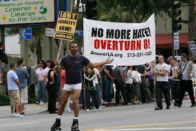 WEHO gay pride overturn Prop 8