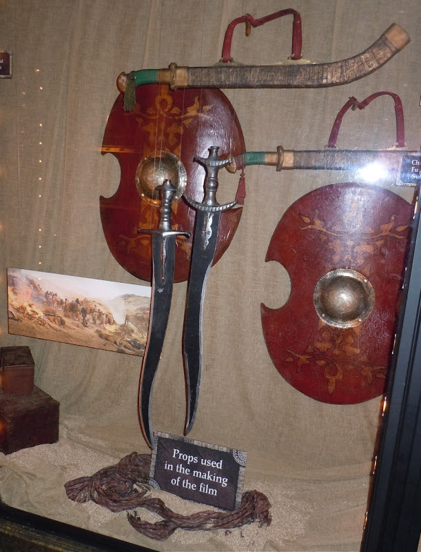 Prince of Persia weaponry props