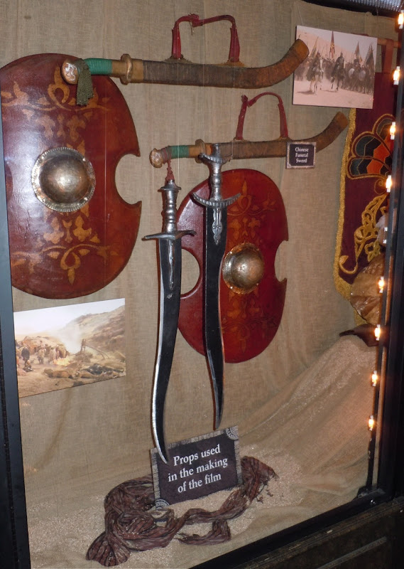Prince of Persia sword and shield props