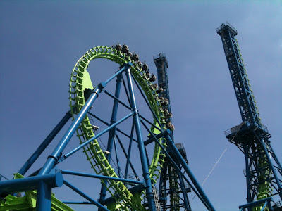 Deja Vu Six Flags Magic Mountain