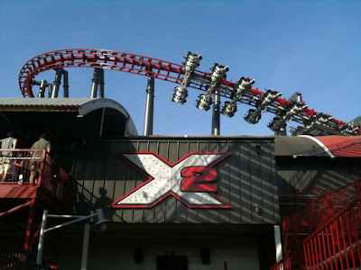 2 ride Six Flags Magic Mountain