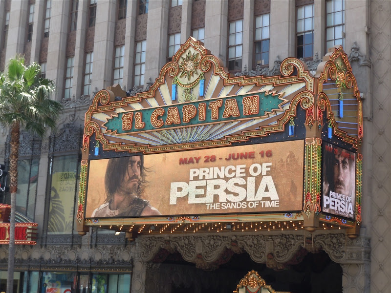Prince of Persia at El Capitan Hollywood