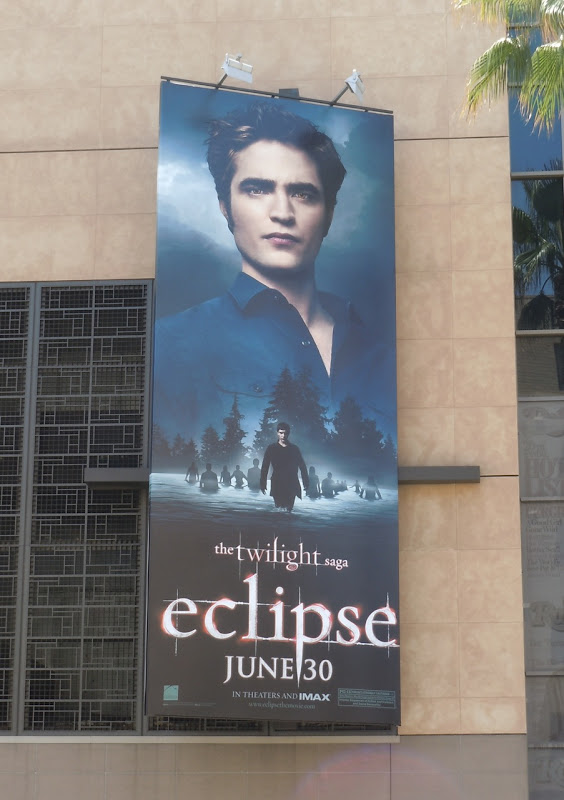 Twilight Eclipse Edward movie billboard
