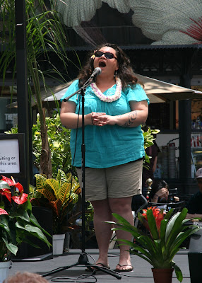 South Pacific Musical Keala Settle sings