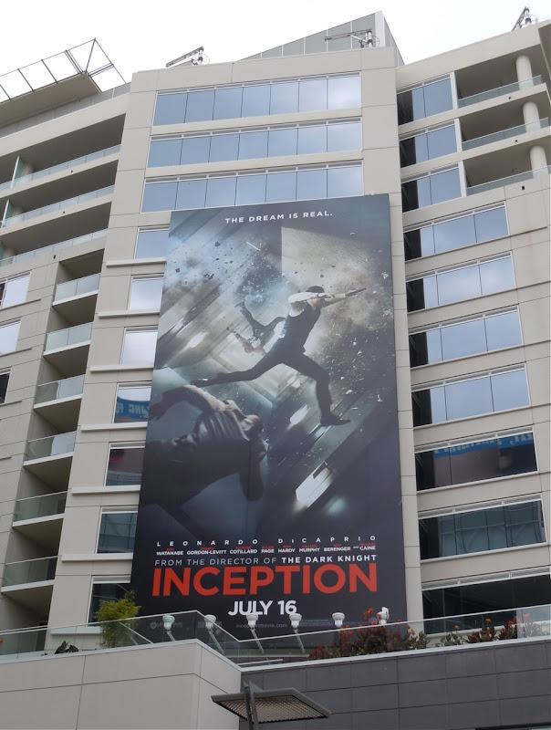 Inception movie billboard
