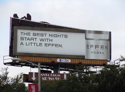 Effen Vodka Best Nights billboard