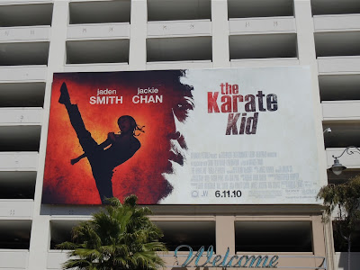 The Karate Kid remake billboard