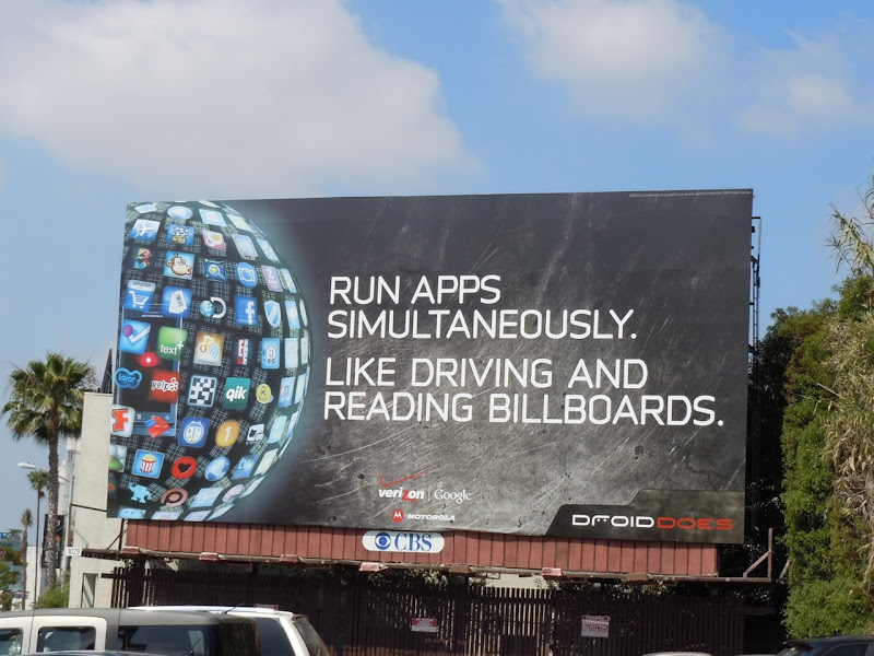 Droid phone apps billboard