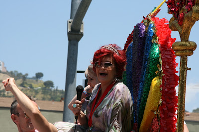 Sharon and Kelly Osbourne West Hollywood Pride 2010