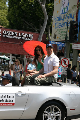 Rachel Smith and Chris Balish WEHO Pride 2010