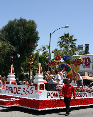Grand Marshal float LA Pride 2010