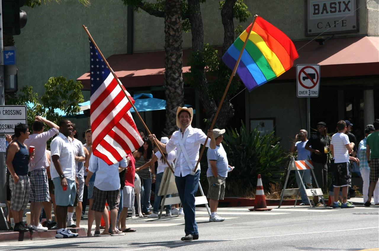 from Noah west hollywood gay pride parade 2008