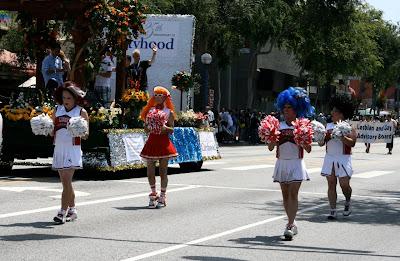 Gay Cheerleaders West Hollywood Pride 2010