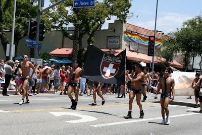 Andrew Christian underwear guys WEHO Pride 2010